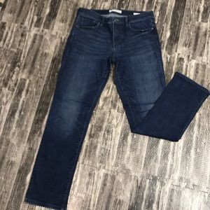 BR size 27 straight jeans
